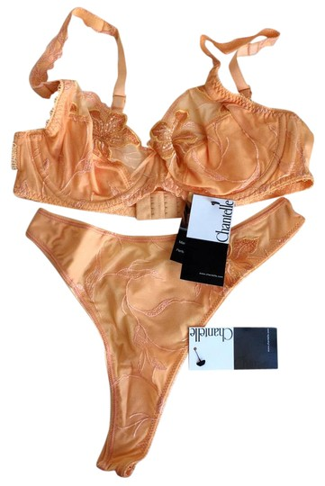 Preload https://item1.tradesy.com/images/chantelle-apricot-riviera-set-lace-underwire-push-up-bra-tanga-thong-20914945-0-1.jpg?width=440&height=440