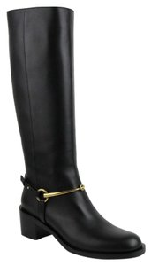 Gucci Women's Leather Knee Black Boots