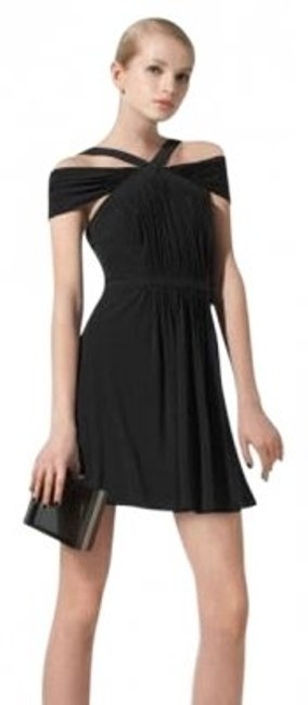 Preload https://item1.tradesy.com/images/bcbgmaxazria-black-off-shoulder-above-knee-cocktail-dress-size-4-s-20915-0-0.jpg?width=400&height=650