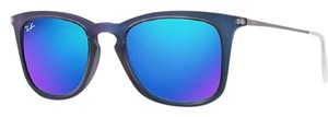 Ray-Ban Ray-Ban Men's Mirrored RB4221-617055-50 Blue Square Sunglasses