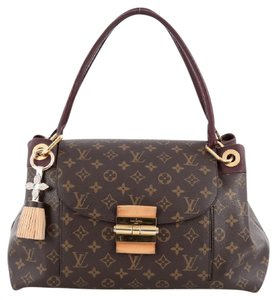 Louis Vuitton Canvas Olympe Shoulder Bag