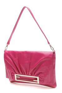Fendi Fuchsia Clutch