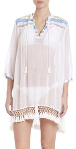 Roberta Roller Rabbit SERAFINE Fringed Tunic Cover Up