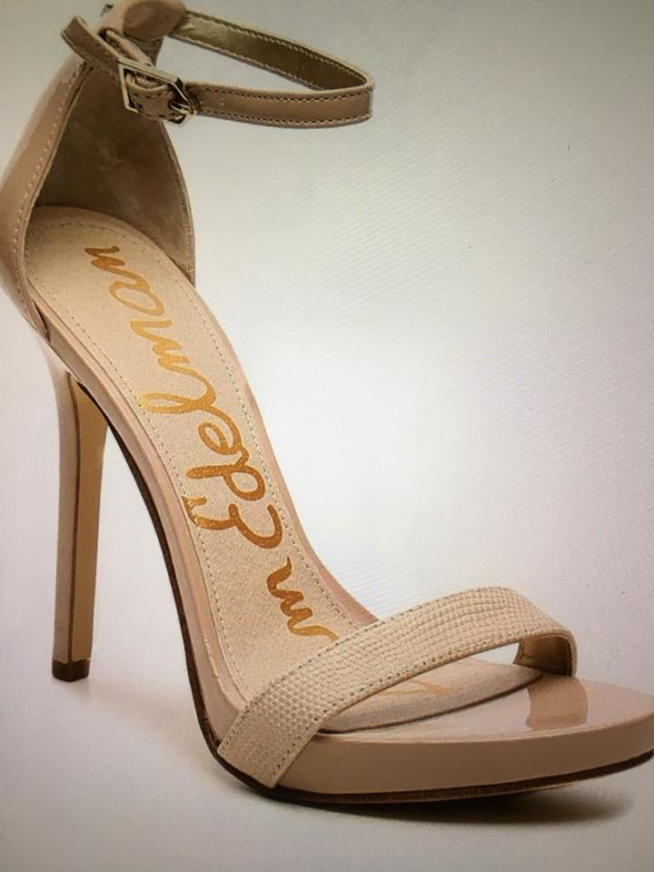 a948008f93db5 Sam Edelman Nude Blush Eleanor Ankle Strap Sandals Size US 8 Regular ...