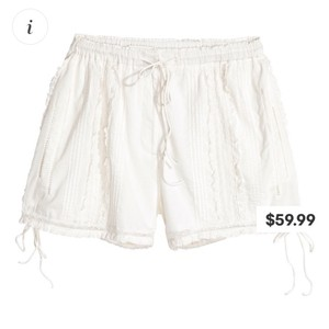 H&M Mini/Short Shorts White