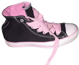 Converse Black, White, Pink Athletic