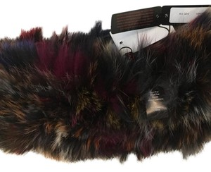 Infinity real fur scarf