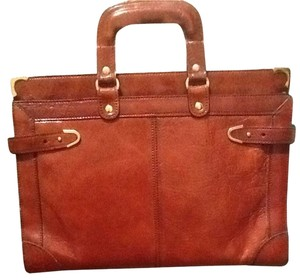 Bond street Italian leather Laptop Bag