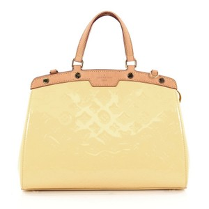 Louis Vuitton Vernis Tote in canary yellow