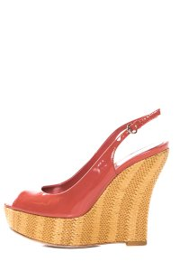 Gucci Coral Wedges