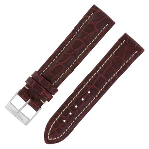 Breitling Breitling 18-18mm Genuine Alligator Leather Burgundy Ladies (12592)