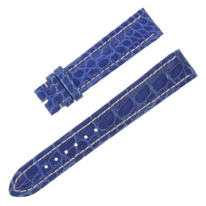 Breitling Breitling 18-16mm Genuine Alligator Leather Blue Ladies Watch (12619)