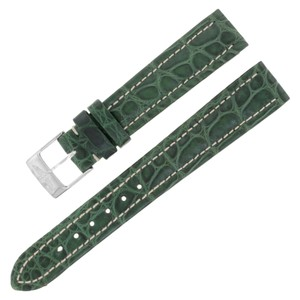 Breitling Breitling 903P 16-14mm Alligator Leather Green Ladies Watch (12638)