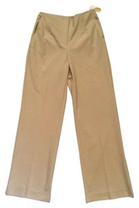 Talbots New Dress Trouser Pants Beige