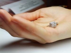 Breathtaking Handmade 1.61 Carat Diamond Ring.