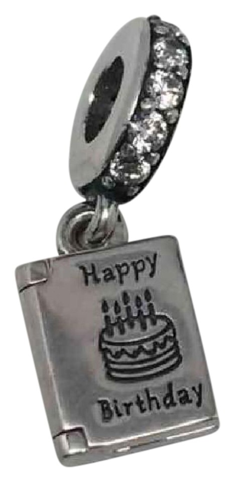 PANDORA Pandora Happy Birthday Wishes Card Charm
