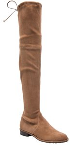 Stuart Weitzman Over The Knee Lowland brown-nutmeg Boots