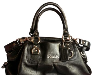 Coach Messenger Classic Madison Mothers Day Satchel in Black