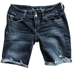 American Eagle Outfitters Bermuda Shorts dark denim