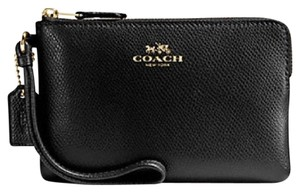 Coach Nwt New With Tags Wristlet in Black