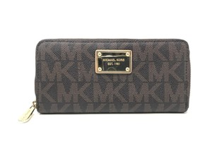 Michael Kors Womens Wristlet in Brown