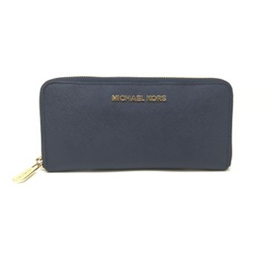Michael Kors Womens Wristlet in Navy Blue