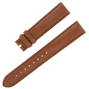Movado Movado 18 - 16 mm Brown Leather Men's Watch Band (7432)
