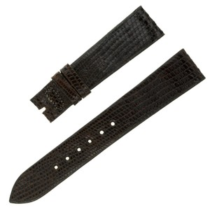 Movado Movado 17 - 14 mm Brown Lizard Leather Men's Watch Band (7472)