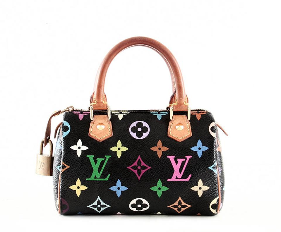 b03470d46f00 Louis Vuitton Speedy Speedy Hl Mini Satchel in Multicolor Image 0 ...