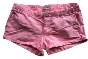 Abercrombie & Fitch Mini/Short Shorts Salmon/Pink