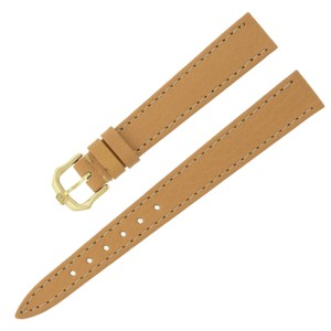Raymond Weil Raymond Weil 13 - 10 mm Tan Genuine Leather Women's Watch Band (9786)