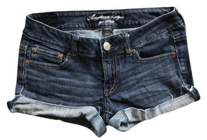 American Eagle Outfitters Cuffed Shorts Denim