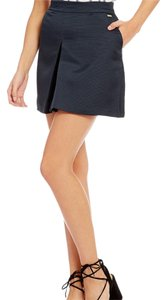 A|X Armani Exchange Mini Skirt solid blue navy