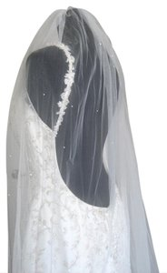 Ivory Long Stacy (Ivory) Bridal Veil