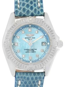 Breitling Breitling Callisto Blue Mother of Pearl Dial Ladies Watch A72345