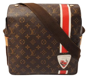 Louis Vuitton Messanger Naviglio China Run Brown Messenger Bag