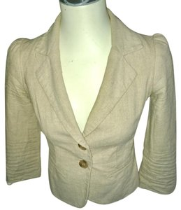 Sparkle & Fade cream Blazer
