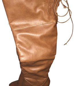 Charlotte Russe Light Brown Boots