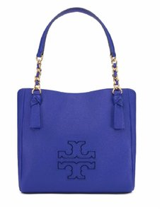 Tory Burch Leather Tote in Macaw