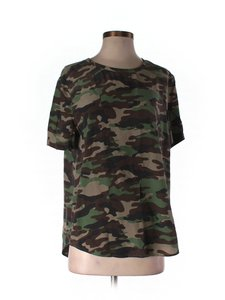Equipment Silk Silk T Shirt Camo