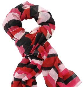 Stella & Dot Stella & Dot Palm Springs Scarf - Red Stripe