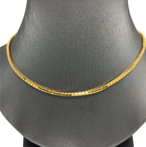 Other 18K Yellow Gold Round Box Chain 16 Inches