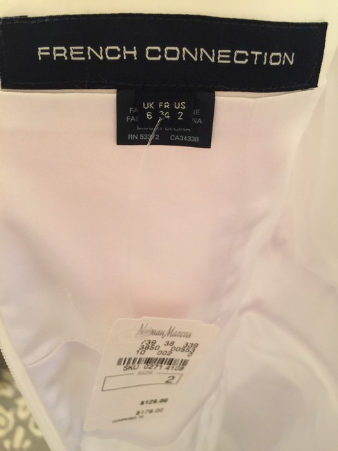 French Connection short dress White on Tradesy