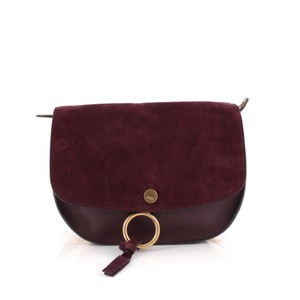 Chloé Chloe Leather Suede Shoulder Bag