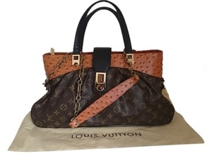 Louis Vuitton Limited Edition Satchel in brown