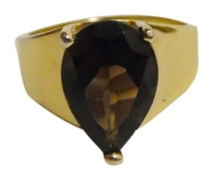 Technibond Technibond Smokey Quartz Ring size 8