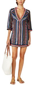 Bar III Bar III Women's Geo Print Tunic Swimsuit Cover Up, Multi, M