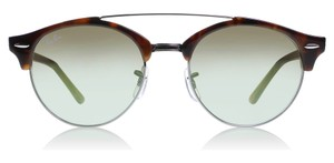 Ray-Ban Ray-Ban Clubround Double Bridge Tortoise RB4346 62519J 51-19