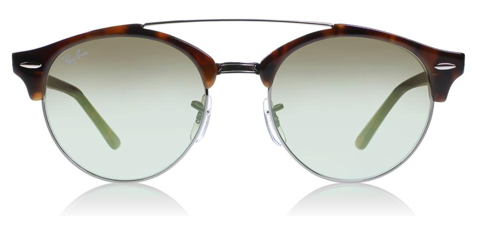 162ec78ed4f Ray-Ban Ray-Ban Clubround Double Bridge Tortoise RB4346 62519J 51-19 Image  ...
