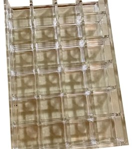 The Container Store Acrylic organizers